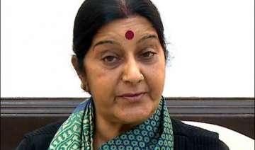 sushma swaraj s statement in rs without notice...