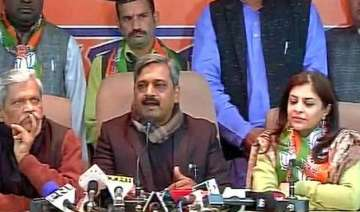former aap leader shazia ilmi joins bjp - India TV