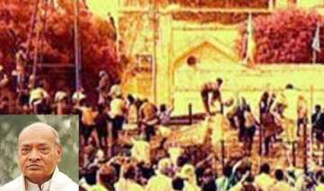 rao was denied ticket in 1998 because of babri...