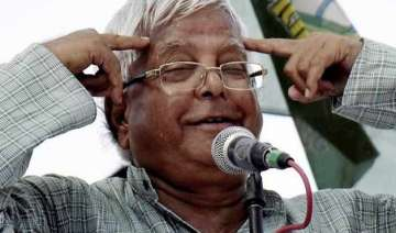 bihar polls two firs filed against lalu for his...
