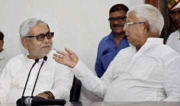 me and nitish exchanged barbs during baal kaal...