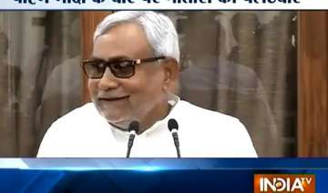 nitish trashes modi s package says it s only...