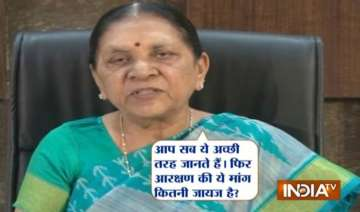 can t give reservation to patel community says...