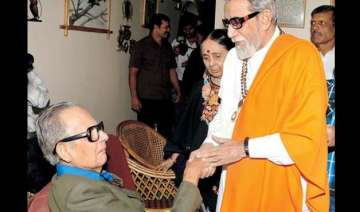 laxman s bond with thackeray lasted several...