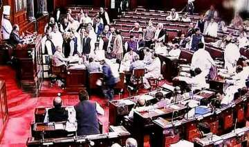 opposition in rajya sabha seeks to corner govt on...
