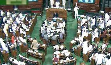 12 bjp mps press the wrong button during gst vote...