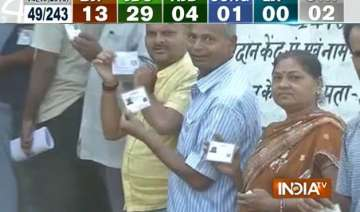 polling begins for first phase of bihar assembly...