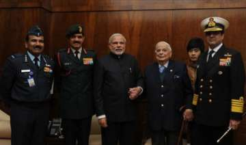 pm modi remembers valour of armed forces on vijay...