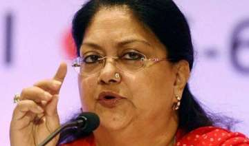 refinery to come up in barmer says vasundhara...