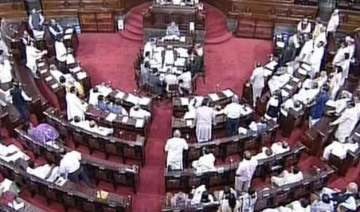 rajya sabha s first working day is a washout -...
