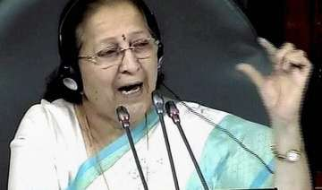 aghast sumitra mahajan says frequent disruptions...