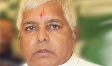 lalu for dialogue with naxalites not for armed...