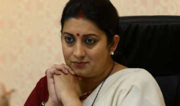 mba pass out refuses to take degree from smriti...
