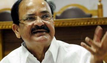 ready to face consequences on land bill venkaiah...