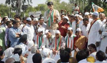 denied entry in dadri congress holds fast at...