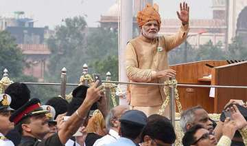 in pics pm modi s independence day speech vows to...