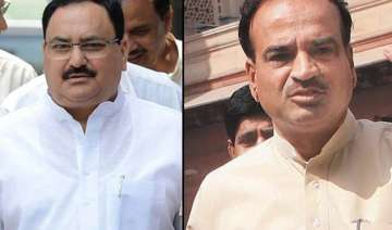 union ministers jp nadda ananth kumar to visit...