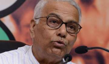 it will be a dialogue of the deaf yashwant sinha...