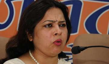 saradha scam action bjp says mamata is pressing...