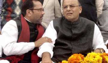 arun jaitley deprecates naqvi s remark on beef...