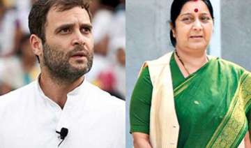 sushma should disclose how much her family was...