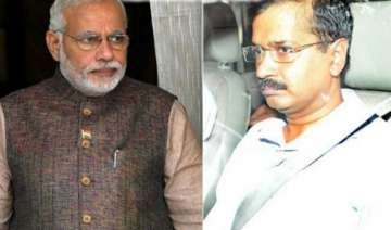 kejriwal writes to modi says centre trying to...