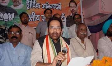 mukhtar abbas naqvi disapproves of v k singh s...