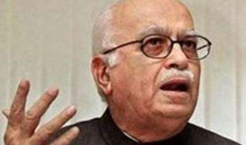 advani asks bjp mps to donate rs 10 000 for leh...