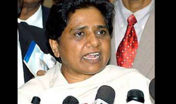 mayawati says wrong policies forcing people to...