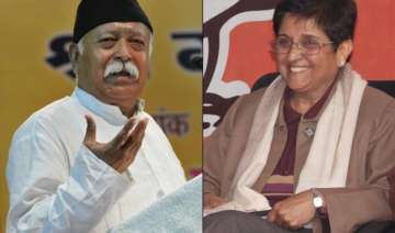 mohan bhagwat upset with bjp move to project...