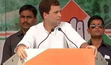 delhi polls rahul gandhi to hold rally in...
