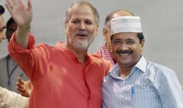 fresh lg aap government tussle as acb chief mk...