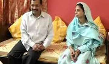 geeta meets delhi cm arvind kejriwal - India TV