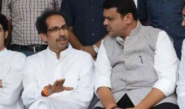 sena bjp ties hit rock bottom as devendra...
