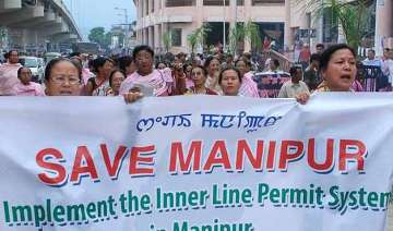 houses of manipur minister 5 mlas torched - India...