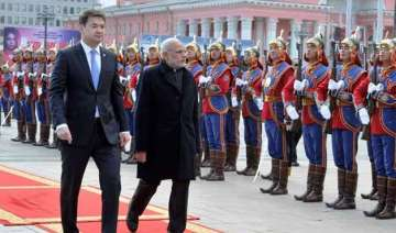 pm modi s mongolia visit more about leverage over...