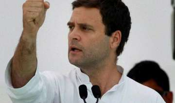 rahul gandhi accuses pm modi of protecting guilty...