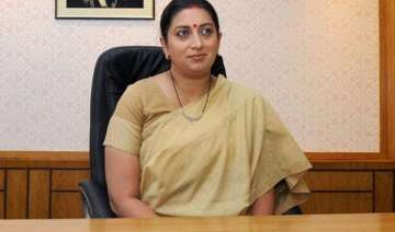 cbse apologizes to smriti irani for spelling...