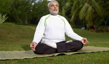 pm modi to practice yoga with kids at rajpath on...