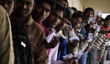 brisk polling in jharkhand - India TV