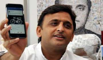 samajwadi party s mobile app launched for public...