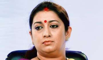 embarrassed smriti irani orders inquiry into...