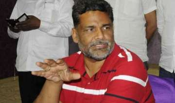 rjd expels mp pappu yadav for anti party...