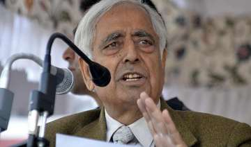 j k polls only pdp can stop rise of bjp says...