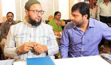 owaisi brothers poisoning minds of muslims shiv...