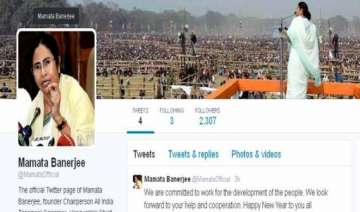 mamta banerjee joins twitter on new year eve -...