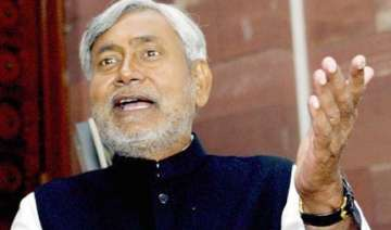 nitish takes dig at rjd for encouraging cross...
