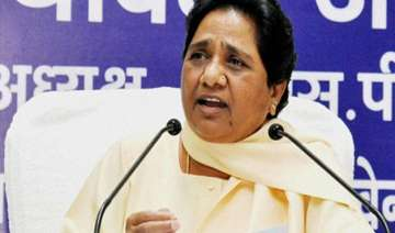 mayawati asks bsp leaders to donate a month s...
