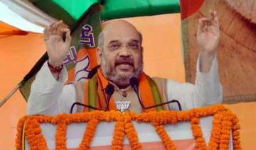 bihar polls bjp moves ec to have fir against amit...