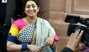 smriti irani to visit amethi tomorrow - India TV